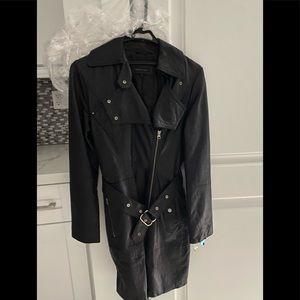 Black Leather Rudsak Jacket